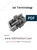 Financial Terms - Gr8AmbitionZ