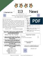 newsletter third grade january14hp