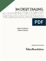 Tuchfarber, A. J., Et. Al. - Random Digit Dialing