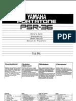 Yamaha Psr-36 Anleitung Manual