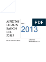 Aspectos Legales Basicos Del Sgsss 2013
