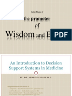 0 Descision Support Systems in Medicine - Shojaee