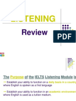 IELTS Listening Lecture