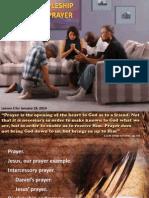 1st Quarter 2014 Lesson 3 Discipleship and Prayer
