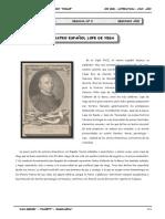 2do. Año - LIT - Guía 2 - Teatro español Lope de Vega