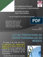 LEY DE PROTECCION DE DATOS PERSONALES EN MEXICO.pptx