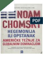 Noam Chomsky - Hegemonija Ili Opstanak