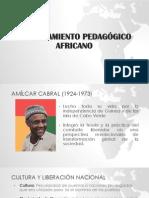 EL PENSAMIENTO PEDAGÓGICO AFRICANO