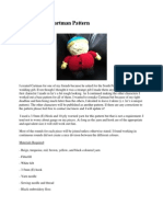 South Park Cartman Amigurumi Pattern