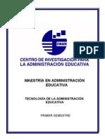 Tecnologiadelaadministracioneducativa-2009