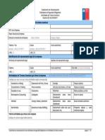Cuestionario de Autoevaluacion de Estandares de Seguridad Turismo Aventura