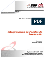 ESP OIL y Lazarde, H. - Interpretacion de Perfiles de Produccion