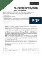 International Journal of Geriatric Psychiatry Volume 26 Issue 11 2011 [Doi 10.1002_gps.2662] Ralf Ihl; Natalia Bachinskaya; Amos D. Korczyn; Veronika Vakhapo -- Efficacy and Safety of a Once-daily Formulation of Gink