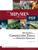 Analisis Industria Confeccion Materiales Textiles