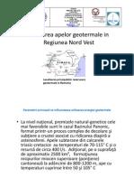Aurel Setel_Utilizarea Apelor Geotermale in Regiunea NV