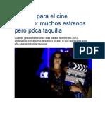 El 2012 Para El Cine Peruano