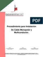6 Procedimiento Para La Instalación de cable(formato)