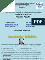 modeloassure-disenoinstruccional-091221164552-phpapp02.ppt