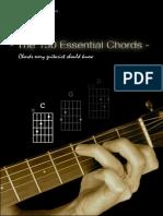 The 150 Essential Guitar Chords