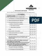 Environmental Audit Check List-6!7!10