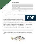 Peixes e Anfíbios 7º Ano