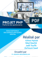 platform e-learning en PHP