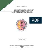 Kajian Faktor-faktor Yang Melatarbelakangi Akseptor Untuk Memilih Kontrasepsi Suntik Di Puskesmas