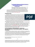 Rosenfeld (1984) Hypochondrias, Somatic Delusion and Body Scheme in Psychoanalytic