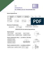 Formulario trigonometrico