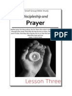 03 DISCIPLESHIP & Prayer - Small Group Bible Study