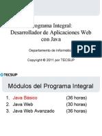 Fundamentos Del Lenguaje Java