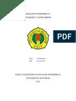 Summary Cacing Kremi - Tri Hardiyanti-e1a012055