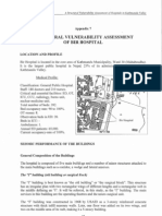 Structural Vulnerability  Assessment of  Bir Hospital