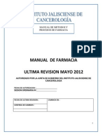 Manual de Procedimientos de Farmacia