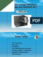 2012 VAV Boxes Energy Efficiency, Air Leakage and ASHRAE 90.1