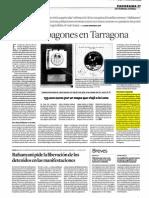 Ovnis y  apagones  en  Tarragona