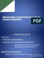 PRINCÍPIOS DO DIREITO EUROPEU