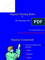 Organic Naming Rules PDF