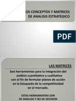 Matrices Analisis Estrategico