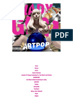 182621510 Digital Booklet ARTPOP