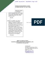 2013.09.04 ACLU Amicus Brief - NRA