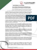 NOTA DE PRENSA N° 132 - 2013-CG/COM