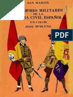 Uniformes Militares De La Guerra Civil Espanol