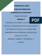 Asiganciones de Economía - Trabajo Individual S2