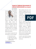The Personnel of National Assessment of Educational Achievements