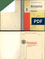 Algebra cl.X 1989