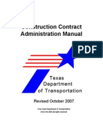 contract administration manual