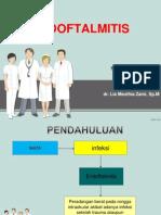 Slide Referat Endoftalmitis Echa