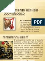 ORDENAMIENTO JURIDICO ODONTOLOGICO