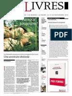 112803429 Supplement Le Monde Des Livres 2012-11-09